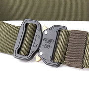 125CM Mens Outdoor Tactical Military Equipment Army Outer Waistband Nylon Combat Buckle Belts