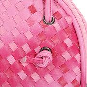 Women Gradient Color Soild Leather Mini Bag