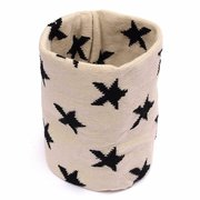 Boys Girls Neck Baby Kids Star Toddlers Knitted Circle Scarf Shawl Winter Warmer Scarves