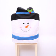Non-woven Fabric Chair Back Cover Christmas Decorations Chair Cover