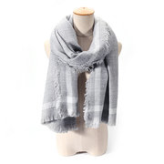 200CM Women Super Long Warm Scarves Shawl Casual Sunshade Scarf Wraps With Tassel
