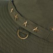 Cappello estivo da donna in cotone estivo con pentagramma cappello da donna TORCIA
