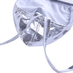 Mens Sexy Double Panties Crotchless Widen Waistband Butt Liffting Pouch Comfy Underwear Thongs