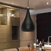 5.9 '' Modern Dome Hängende Decke Anhänger Lampshape Dekorative String Leuchte Leuchte Kronleuchter