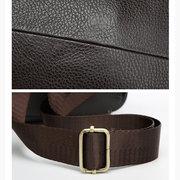 Echtes Leder Anti-Diebstahl Brusttasche lässig Vintage Single-Schulter Umhängetasche für Männer Damen