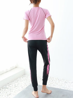 Breathable Sport T-Shirts & Pants Running Tracksuit