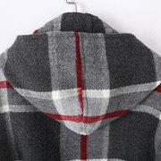 Mulheres Inverno Quente Tartan Cashmere Cachecol Novo Designer Xadrez Capô Chapéu Cachecóis Xales Cachecóis Wraps
