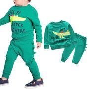 Vêtements pour garçons en bas âge Sweatshirt + Pantalon pour 1-7Y