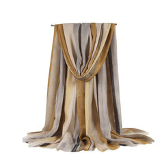 Woman's Thick Printed Ethnic Style Scarf Warm Anti-mite Sunshade Shawl Scarves