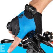 الرجال النساء الصيف السراويل أصابع قفازات ركوب الدراجات الجبلية عدم الانزلاق قفازات الرياضة