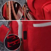 Canvas Multifunctional Casual Mommy Bag Handbag Shoulder Bag Crossbody Bag Backpack