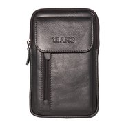 Genuine Leather 5.5-7″ Cellphone Bag Waist Bag Crossbody Bag For Men