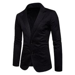 Herren Business Multi-Tasche Cord Baumwolle Baumwolle Wärmer Slim Fit Outdoor Solid Color Jacken Blazer