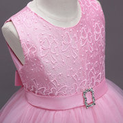 Flower Patch Toddler Girls Kids Pageant Party Formal Princess Vestido Para 4Y-15Y