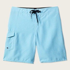 Mens Knee Length Plain Tactical Board Shorts Thin Slim Beach Shorts With Side Cargo Pocket