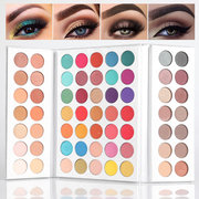 63Colors Pro Eyeshadow Palette Smoky Matte Eyeshadow Lasting Glitter Eye Shadow Highlighter Bronzer