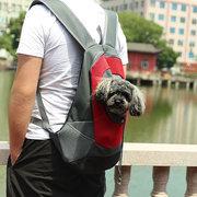 Sac à dos portatif de chien de sac à dos d'animal familier de maille respirable de tissu d'Oxford
