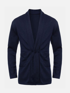 Casual One Button Luxury Winter Outwear Stylish Jacket Suit Coats for Men