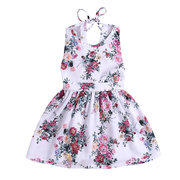 Flower Girl Sleepeless Lace Strap Dress Dress for 2-9Y