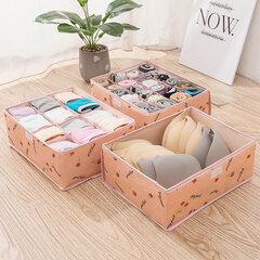 3 stücke oxford tuch underwear bh scoks aufbewahrungsbox waschbar faltbare schublade organizer