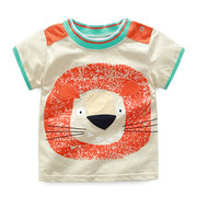 Cartoon Modello Ragazzi Toddler Kids Summer T-Shirt in cotone a maniche corte per 1Y-9Y