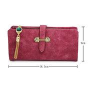 Doux pendentif casual sac à main femmes carte de loisirs carte sacs sacs long portefeuille de couleur bonbon