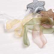Shining Star Shaped Magnet Ribbon Curtain Tie Concise Style Curtain Buckle