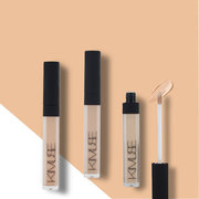 3 Colors Liquid Concealer Natural Soft Eye Concealer Cream Face Flaws Correction Face Base Makeup