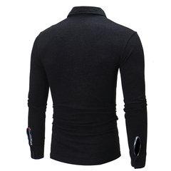 Camisa de golf de manga larga para hombre
