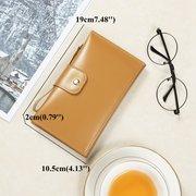 Stoccaggio lungo passaporto frizione portafoglio passaporto in puro cuoio puro colore Borsa Telefono 5,5 pollici Borsas