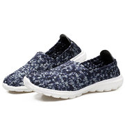 Knitting Colorful Soft Breathable Casual Shoes