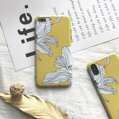 Women Vogue Floral TPU Phone Case Back Cover Anti-fall For iPhone