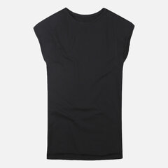 Mens 100% Cotton Solid Color Sleeveless Breathable Loose Casual Tank Tops