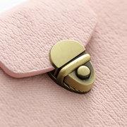 Titolare della carta multiscatola in pelle vintage PU per donna