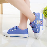 Girls Lovely Cartoon Laces Decor Hook Loop Sweet Casual Shoes