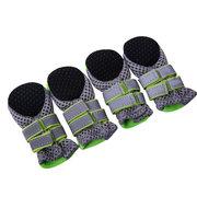 Chaussures de protection animal antidérapantes bottes pattes en mesh avec semelles souples pour chien chiot