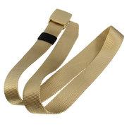 Men Practical Sport Tactical Military Waist Belt Nylon Plastic Buckle Waistband