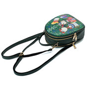 Women Forest Print Bohemian Multi-function Backpack Travel Crossbody Bags