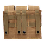 Tactical Outdoor Leg Jambe Triple Mag Pouch Support Nylon Sac de taille