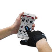 Men Women Full Finger Professional Gloves With Reflective Tape Touch Screen Riding Mittens