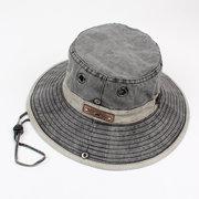 Men Summer Foldable Fishing Cap Fashion Cotton Visor Hat Outdoor Climbing Cap