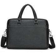 Männer 14 Zoll Laptop-Tasche Umhängetasche Handtasche Umhängetasche