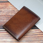 Women Genuine Leather Vintage Coin Purse Embossed Card Holder