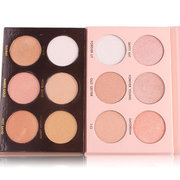 MISS ROSE Face Powder Contour Pigment 6 Colors White Gold Nude Shimmer Mineral Powder Makeup Highlig