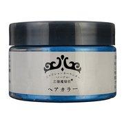 Crema de tinte para el cabello Tinte temporal desechable de cera de 6 colores para hombres y mujeres