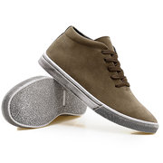 Men Soft Nubuck Lace Up Trainers Casual Shoes
