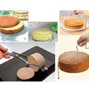 Bread Splitter Bakeware Double Line Cake Slice Layerer