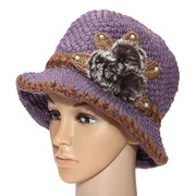 Women Slouch Baggy Winter Warm Soft Knit Crochet Beanie Hat Beret Ski Cap