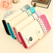 Ladies PU Leather Wallet Card Holder Case Casual Clutch