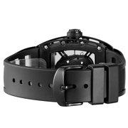 SKONE Punk Hollow Skull Style Quartz Men Relojes Militar de Silicona Reloj Deportivo
